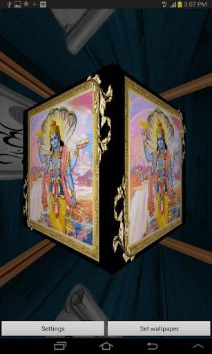 3D Lord Vishnu Live Wallpaper 2.3 screenshots 4