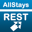 Rest Stops Plus logo