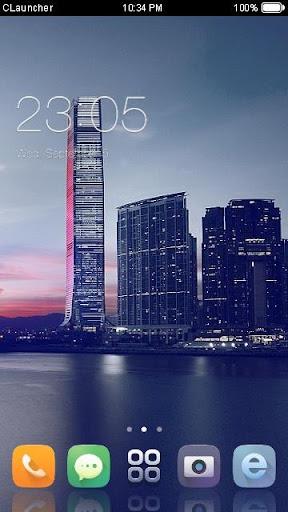 Skyscraper C Launcher Theme