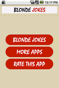 Funny Blonde Jokes - screenshot thumbnail