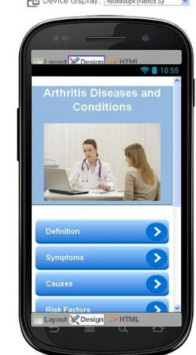 Arthritis Disease Symptoms