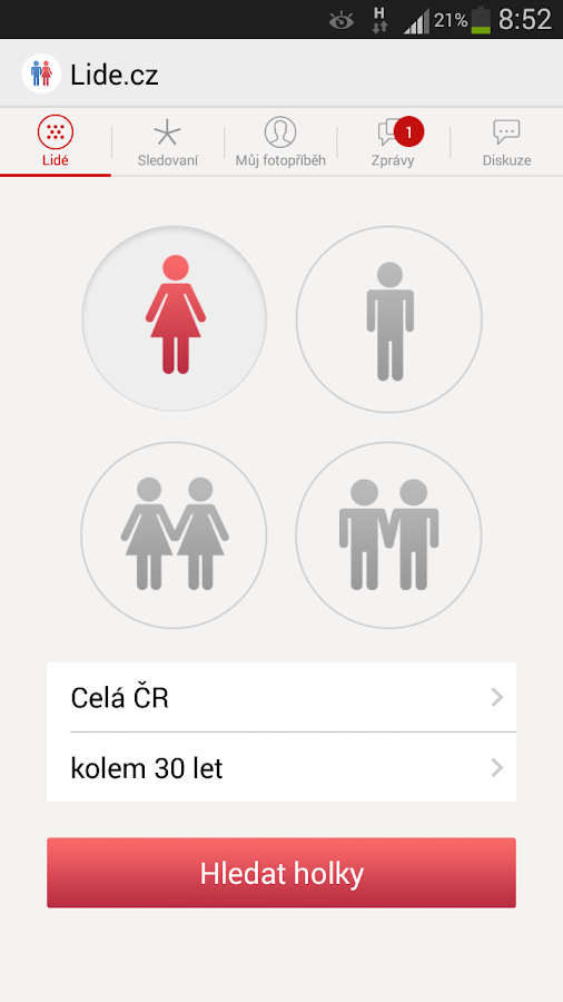 Lide.cz- screenshot