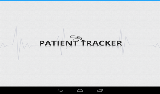Patient Tracker - screenshot thumbnail