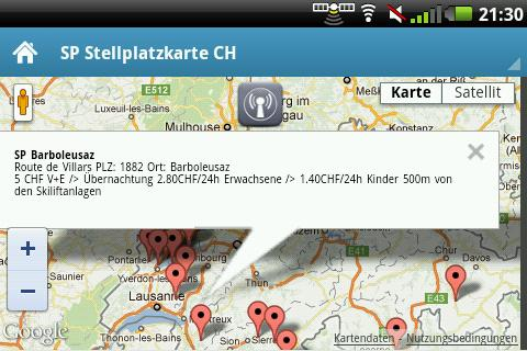 Wohnmobilforum-Schweiz SP-APP- screenshot