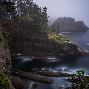 Cape Flattery II by James Case - Landscapes Waterscapes ( tides, beaches, nature, cape, cove, ocean, landscape, rocks )