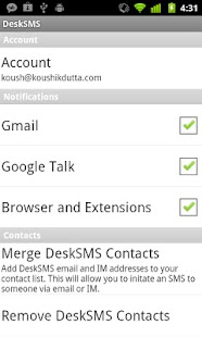 DeskSMS - screenshot thumbnail