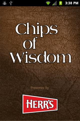 Chips of Wisdom