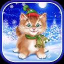 Winter Cat Live Wallpaper APK