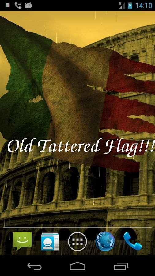 3D Italy Flag- screenshot