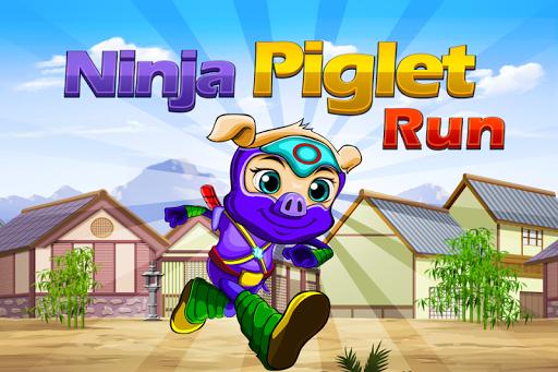 Ninja Pig Run Game Free