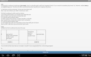 Screenshot of Learn English Intermediate