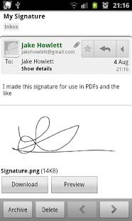玩商業App|Signature Saver免費|APP試玩