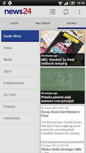 News24 - screenshot thumbnail