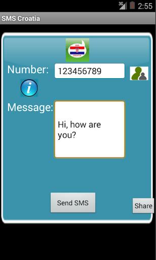 Free SMS Croatia