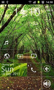 Windows phone 7 Metro Theme - screenshot thumbnail