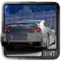 Sport car dash icon