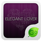 GO Keyboard Elegant lover them icon