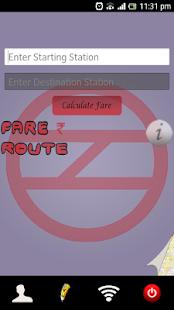 Delhi Metro Guide screenshot