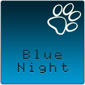 GOSMSTHEME Blue Night
