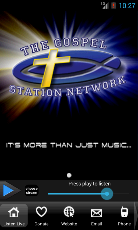 The Gospel Station - screenshot