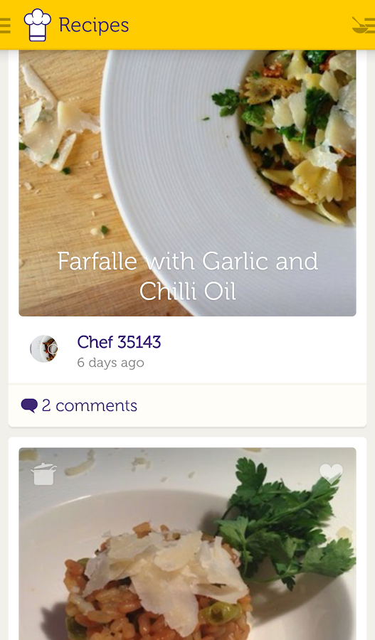 Cooklet Recipes- screenshot