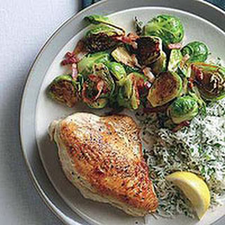 10 best rachael ray brussel sprouts recipes for Chicken and brussel sprouts skillet