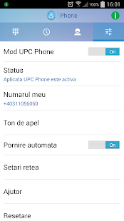 UPC Phone (Romania)- screenshot thumbnail