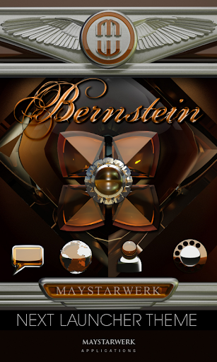 Next Launcher Theme Bernstein