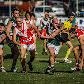by Michael Wignall - Sports & Fitness Australian rules football ( afl riverina 2013 gf )