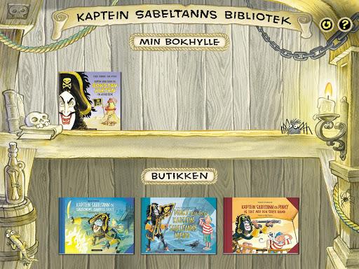Kaptein Sabeltanns bibliotek