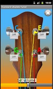 standard ukulele tuner android apps on google play. Black Bedroom Furniture Sets. Home Design Ideas