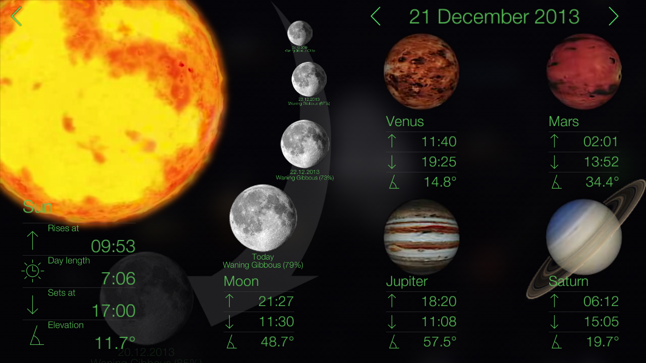 Star Walk - Astronomy Guide screenshot #12