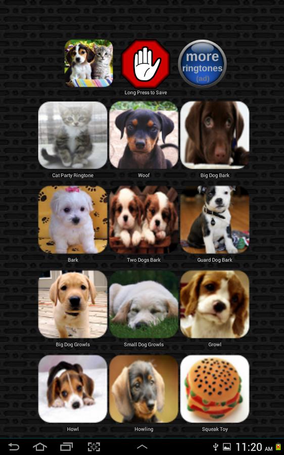 Dog & Cat Ringtones- screenshot