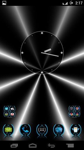 BlueHoloBatcons Launcher Icons
