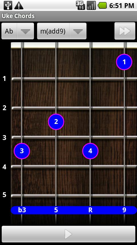 Uke Chords - screenshot