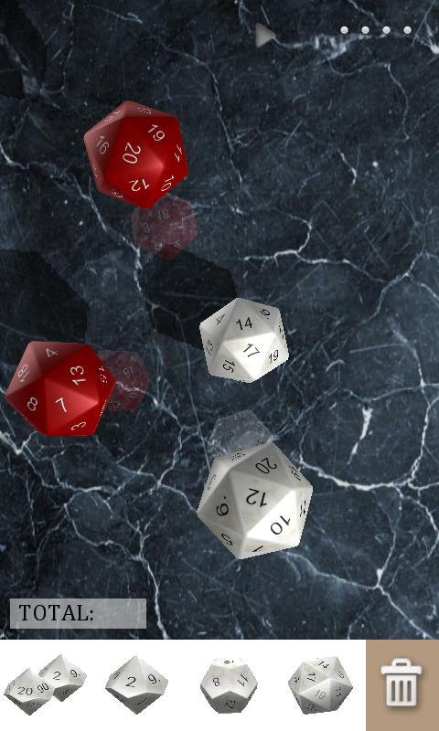 DiceShaker D&D - screenshot
