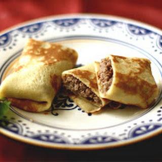Pancakes with Meat(Clatite Cu Carne) Recipe