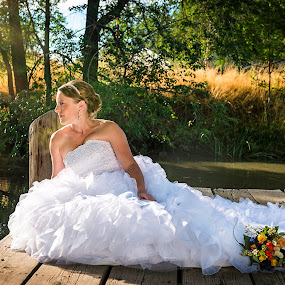Contentment  by Annette Turner - Wedding Bride