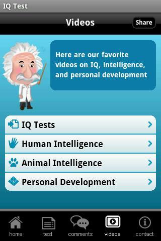IQ Test with Solutions- screenshot