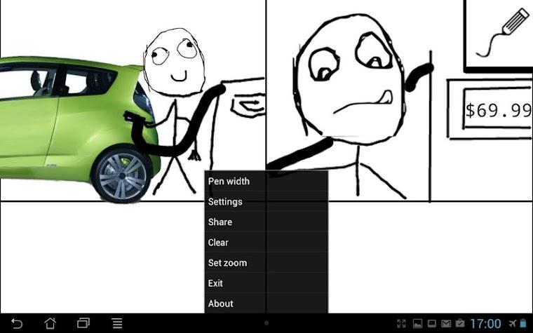 Rage Comic Maker Screenshot
