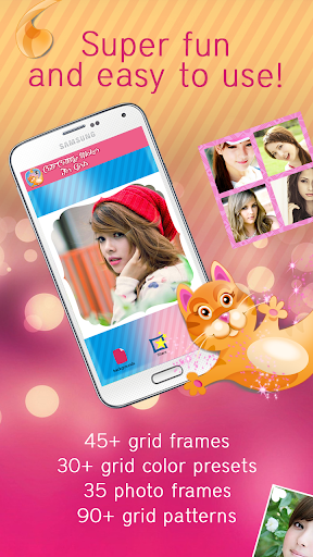 Cute Collage Maker for Girls