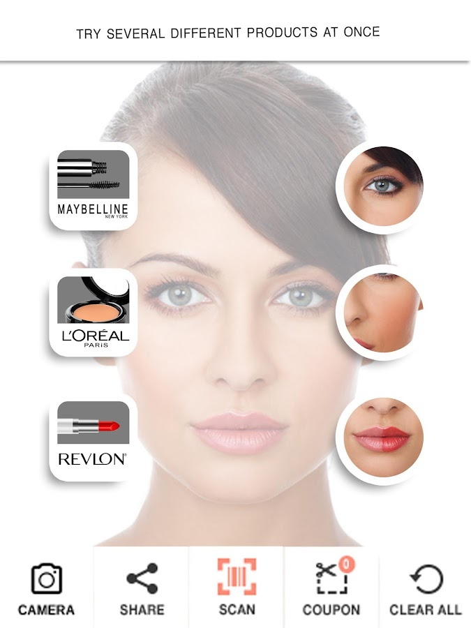 TryItOn Makeup Try It On- screenshot