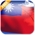 3D Taiwan Flag Live Wallpaper icon