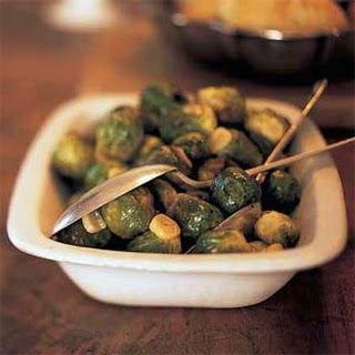 Brussels Sprouts with Browned Garlic