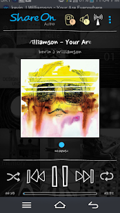 ShareON DLNA WiFi Music Player - screenshot thumbnail