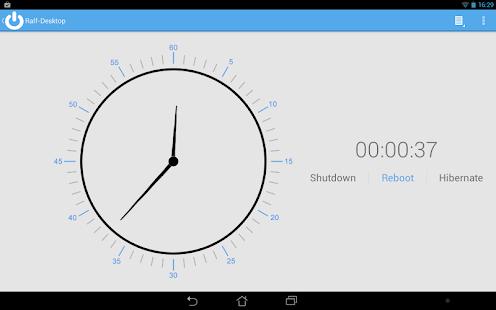 Shutdown Start Remote Screenshot