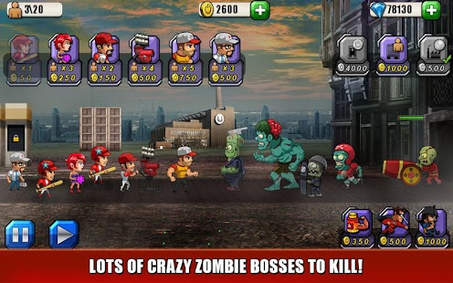 Baseball Vs Zombies Returns- screenshot thumbnail