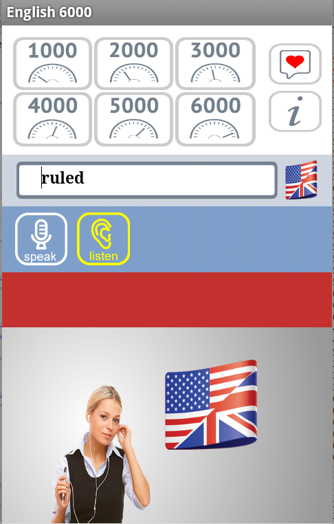 English 6000 Free- screenshot
