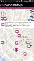Screenshot of Geoexperiencias