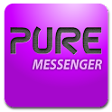Pure messenger widget logo
